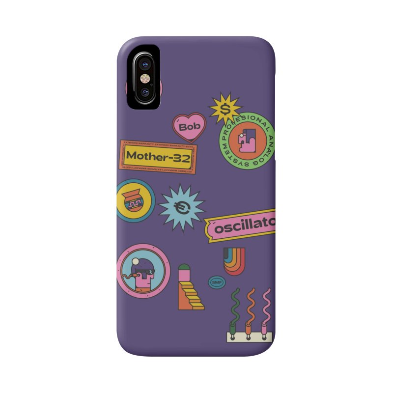 Patchs Accessories Phone Case by Super Magic Friend Store