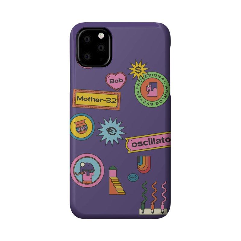 Patchs Accessories Phone Case by Super Magic Friend Store
