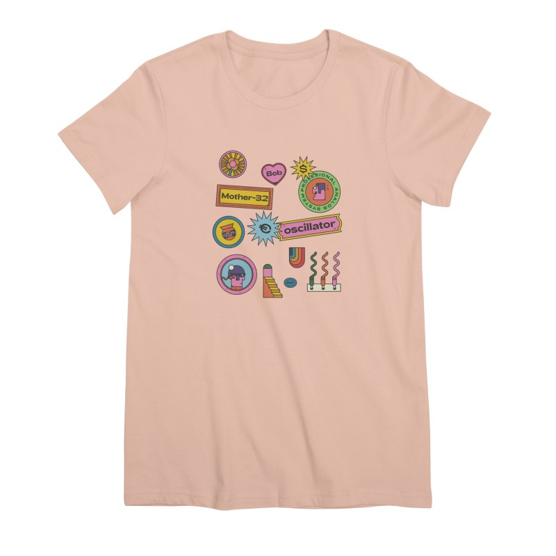 Patchs Women's Premium T-Shirt by Super Magic Friend Store