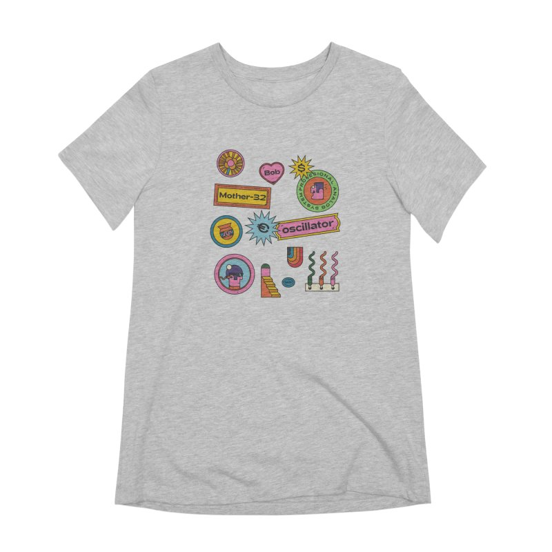 Patchs Women's Extra Soft T-Shirt by Super Magic Friend Store