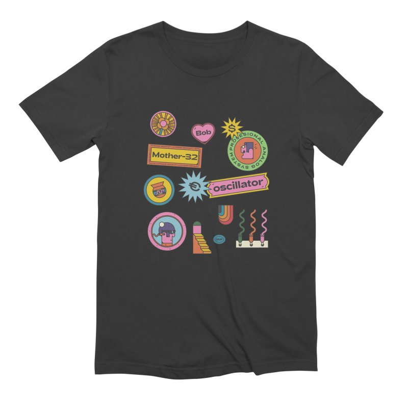 Patchs Men's Extra Soft T-Shirt by Super Magic Friend Store