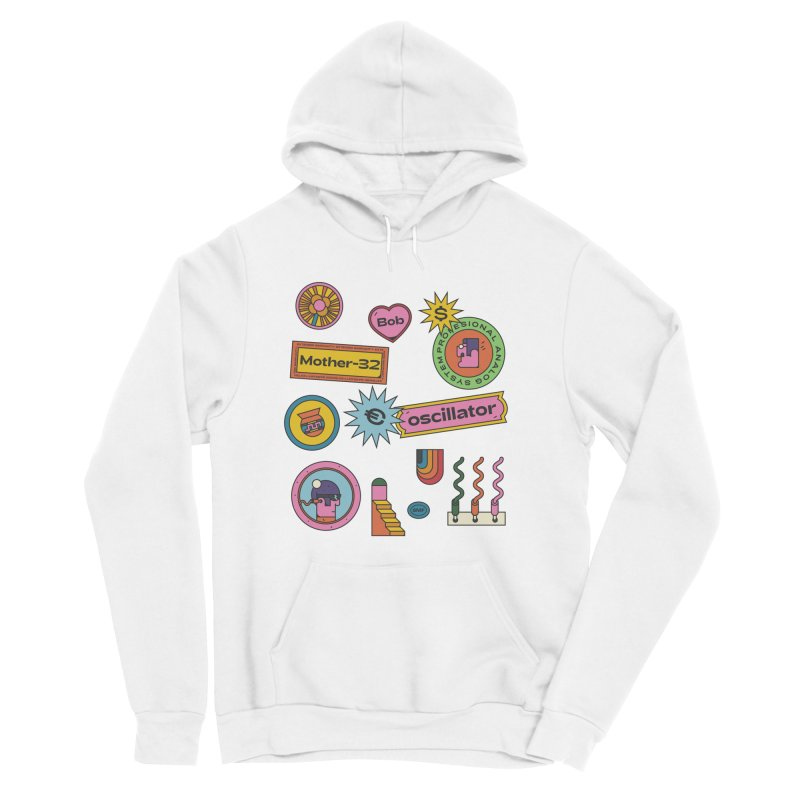 Patchs Women's Pullover Hoody by Super Magic Friend Store