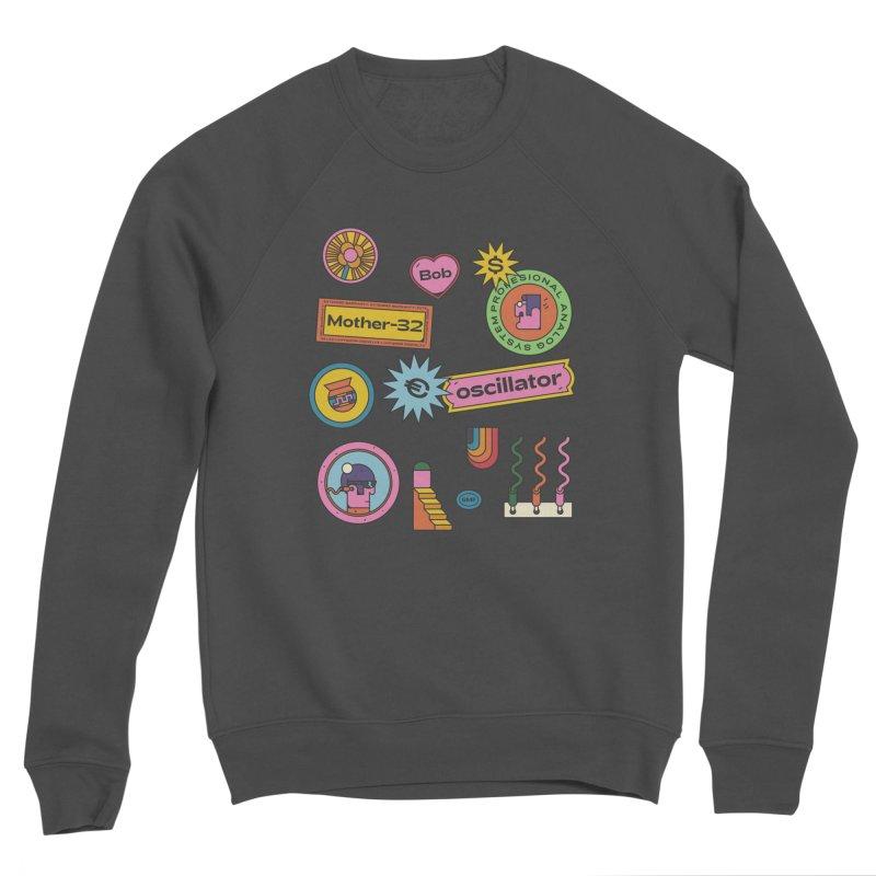 Patchs Men's Sponge Fleece Sweatshirt by Super Magic Friend Store