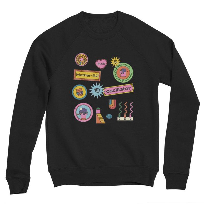 Patchs Women's Sponge Fleece Sweatshirt by Super Magic Friend Store