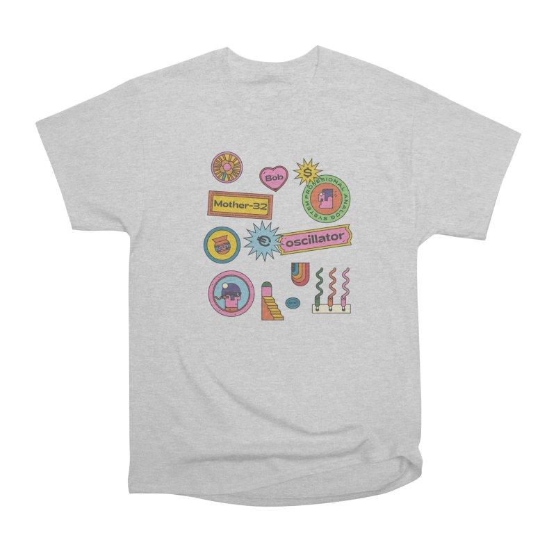 Patchs Men's Heavyweight T-Shirt by Super Magic Friend Store