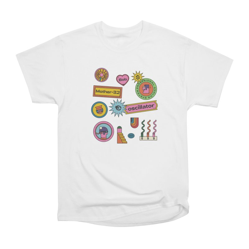 Patchs Women's Heavyweight Unisex T-Shirt by Super Magic Friend Store