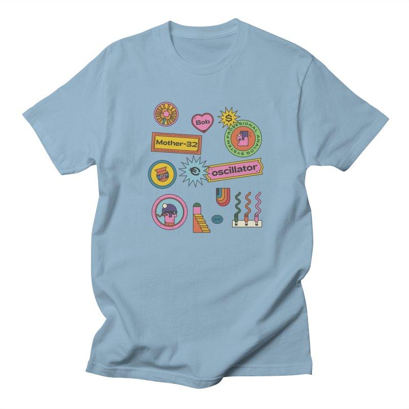 Patchs Men's Regular T-Shirt by Super Magic Friend Store