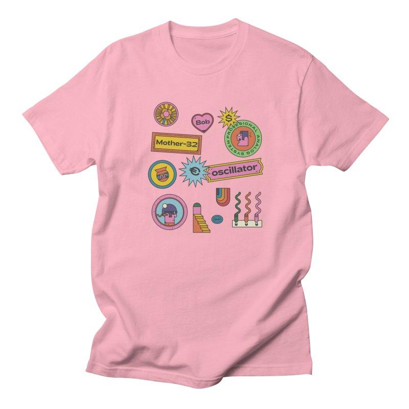 Patchs Women's Regular Unisex T-Shirt by Super Magic Friend Store