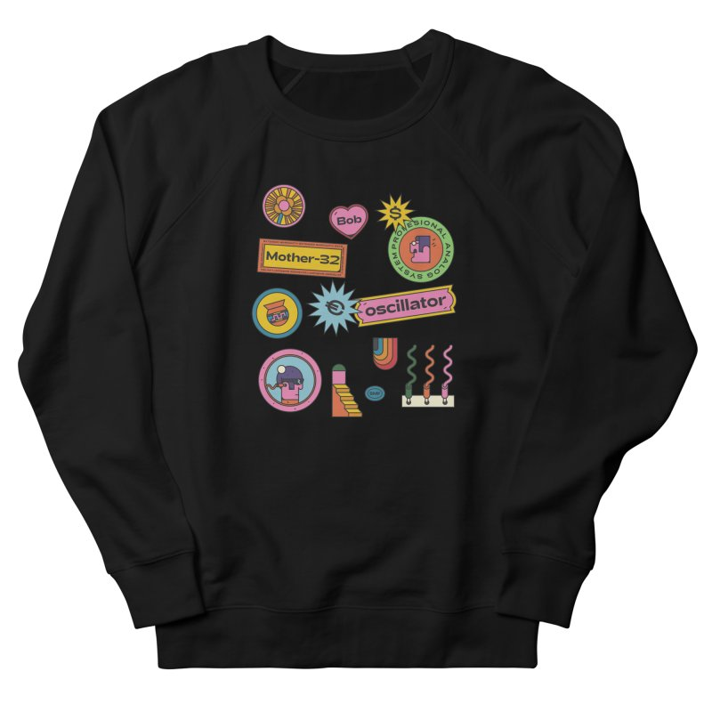 Patchs Women's French Terry Sweatshirt by Super Magic Friend Store
