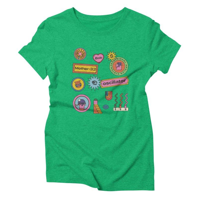 Patchs Women's Triblend T-Shirt by Super Magic Friend Store