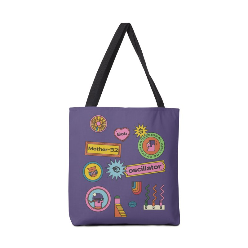 Patchs Accessories Tote Bag Bag by Super Magic Friend Store
