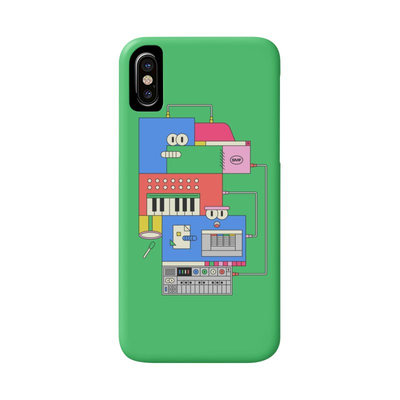 SYNTH Accessories Phone Case by Super Magic Friend Store