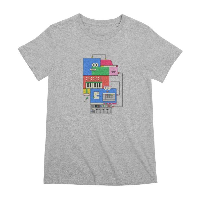 SYNTH Women's Premium T-Shirt by Super Magic Friend Store
