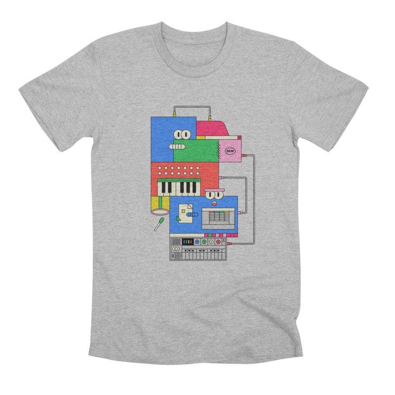 SYNTH Men's Premium T-Shirt by Super Magic Friend Store