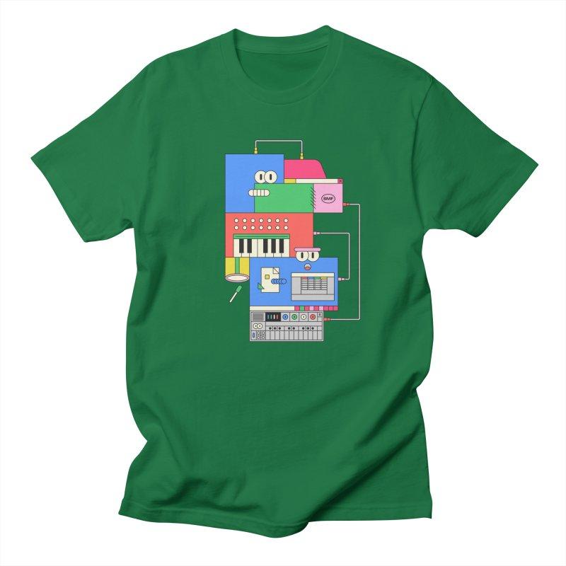 SYNTH Men's T-Shirt by Super Magic Friend Store