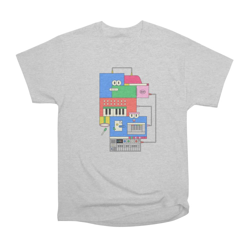 SYNTH Men's Heavyweight T-Shirt by Super Magic Friend Store