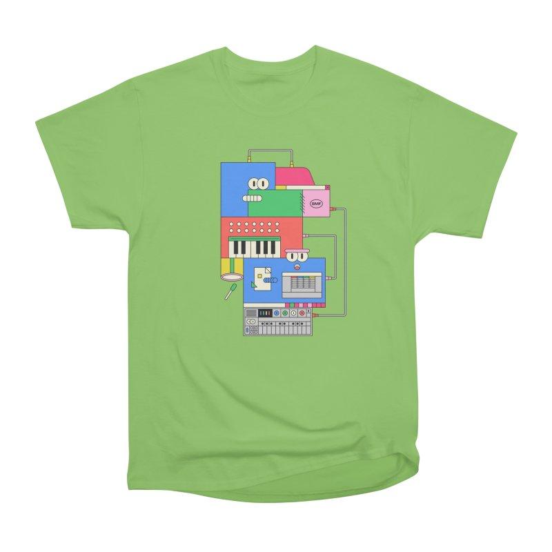 SYNTH Men's Heavyweight T-Shirt by Super Magic Friend Store