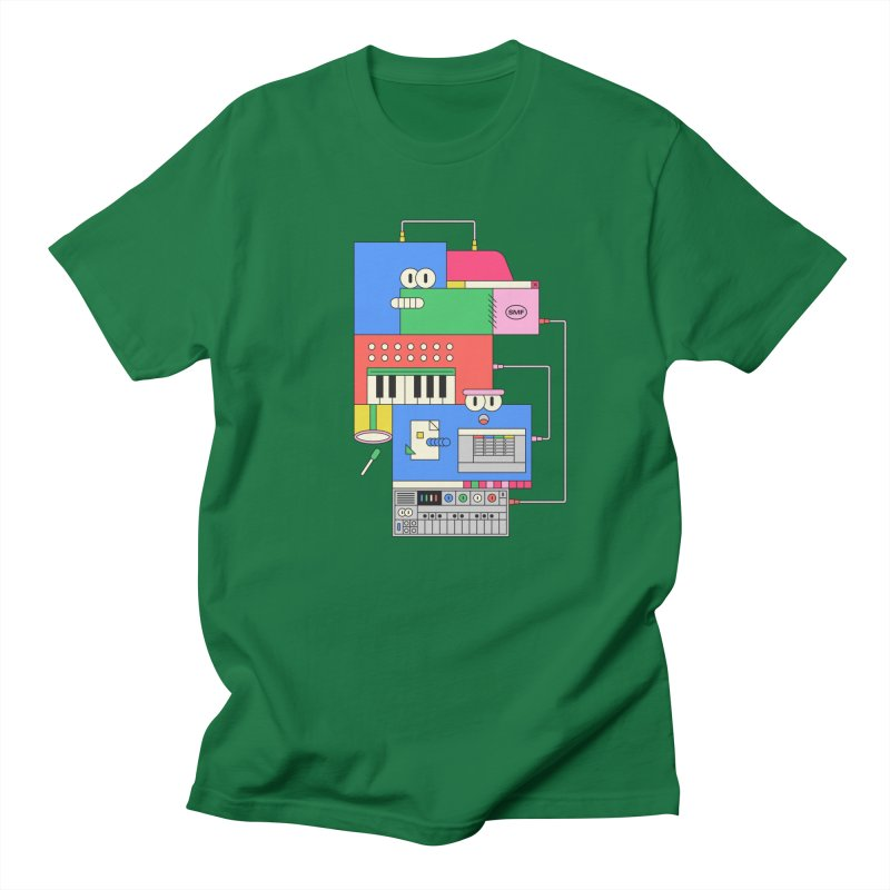 SYNTH Men's Regular T-Shirt by Super Magic Friend Store