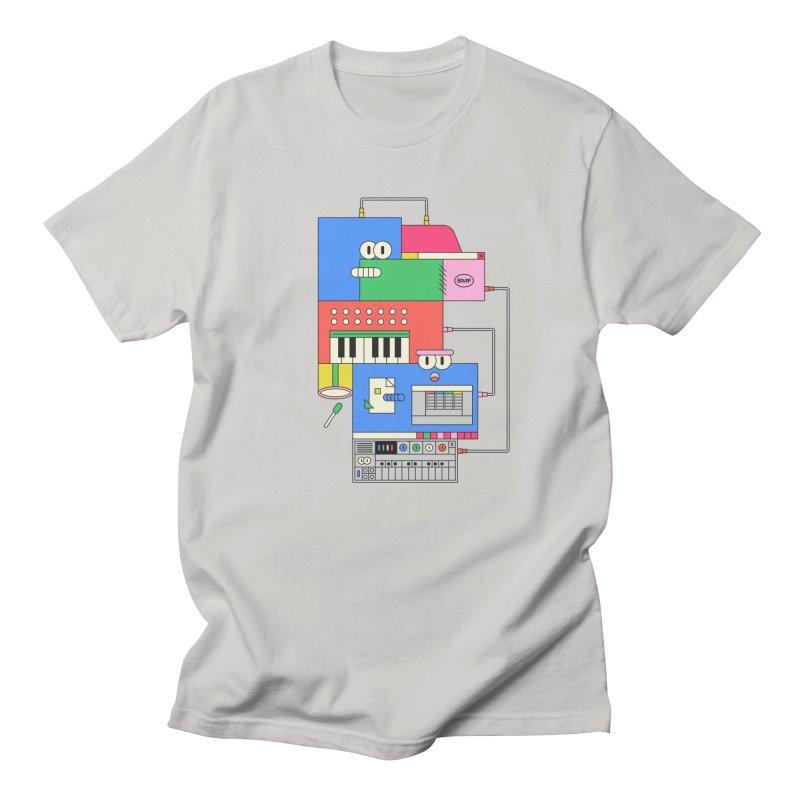 SYNTH Women's Regular Unisex T-Shirt by Super Magic Friend Store