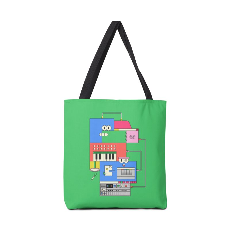 SYNTH Accessories Tote Bag Bag by Super Magic Friend Store