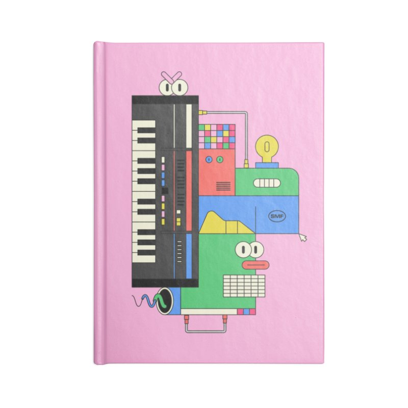 JUN106 Accessories Lined Journal Notebook by Super Magic Friend Store