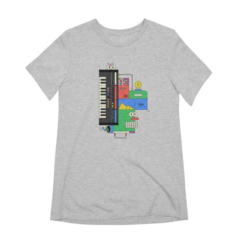 JUN106 Women's Extra Soft T-Shirt by Super Magic Friend Store