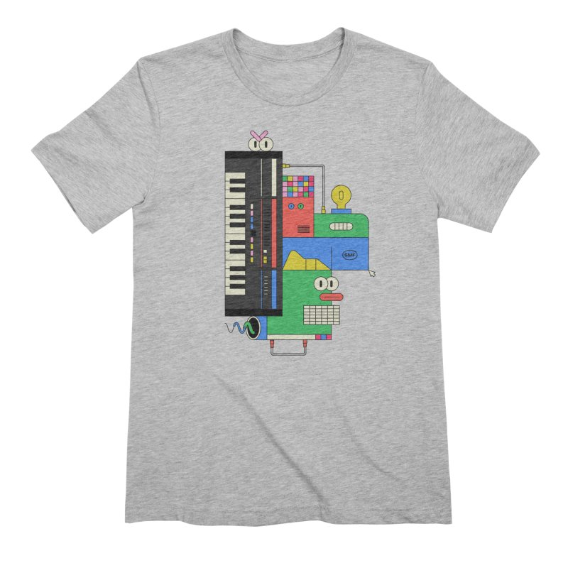JUN106 Men's Extra Soft T-Shirt by Super Magic Friend Store