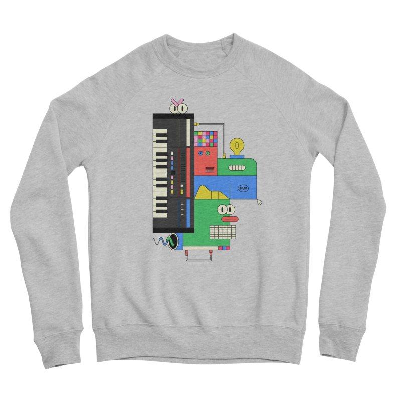 JUN106 Men's Sponge Fleece Sweatshirt by Super Magic Friend Store