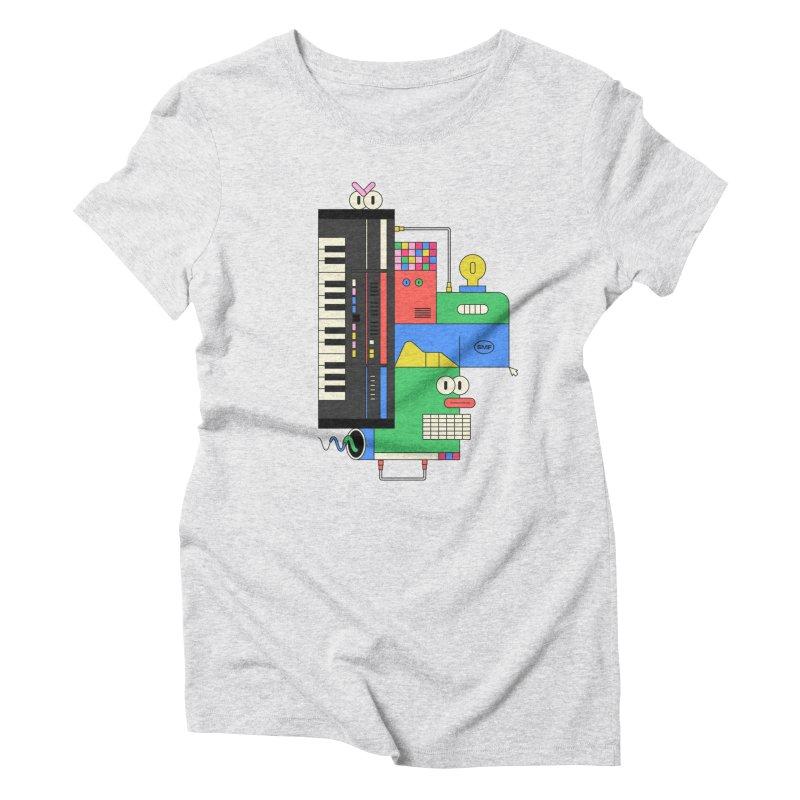 JUN106 Women's Triblend T-Shirt by Super Magic Friend Store