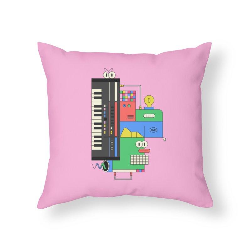 JUN106 Home Throw Pillow by Super Magic Friend Store
