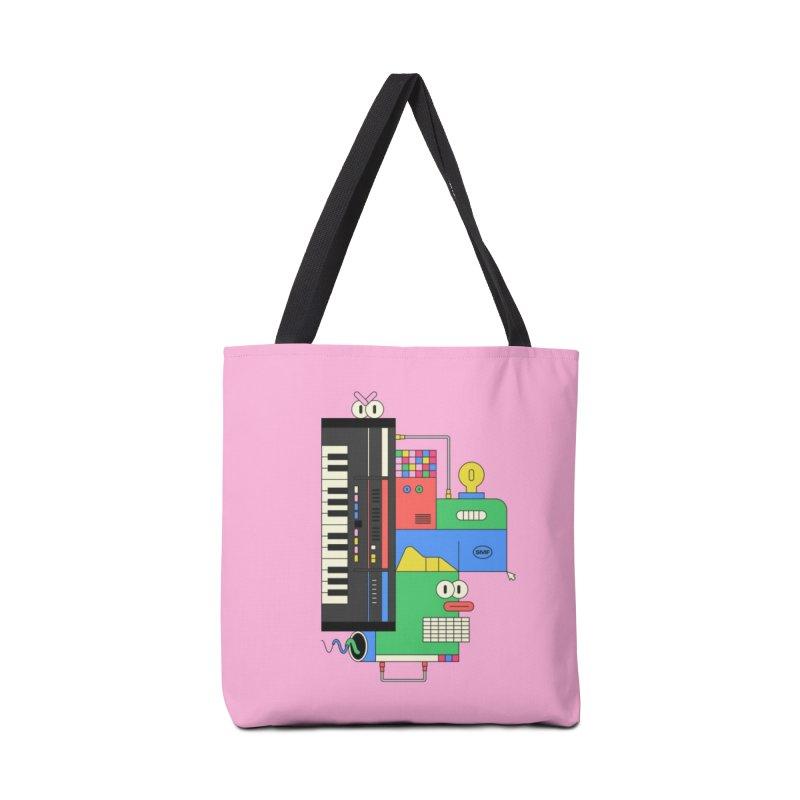 JUN106 Accessories Tote Bag Bag by Super Magic Friend Store