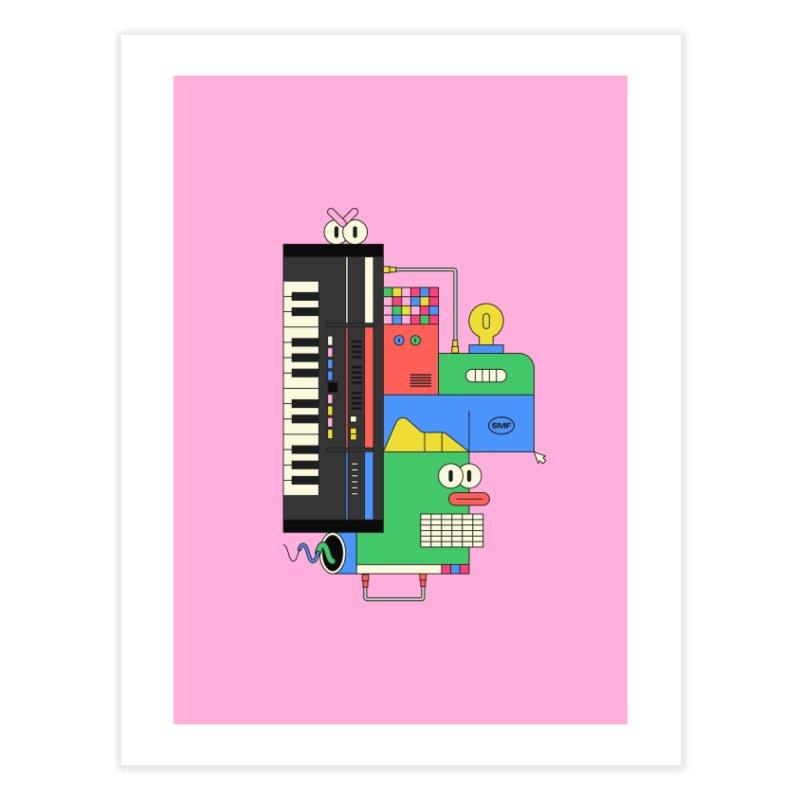 JUN106 Home Fine Art Print by Super Magic Friend Store