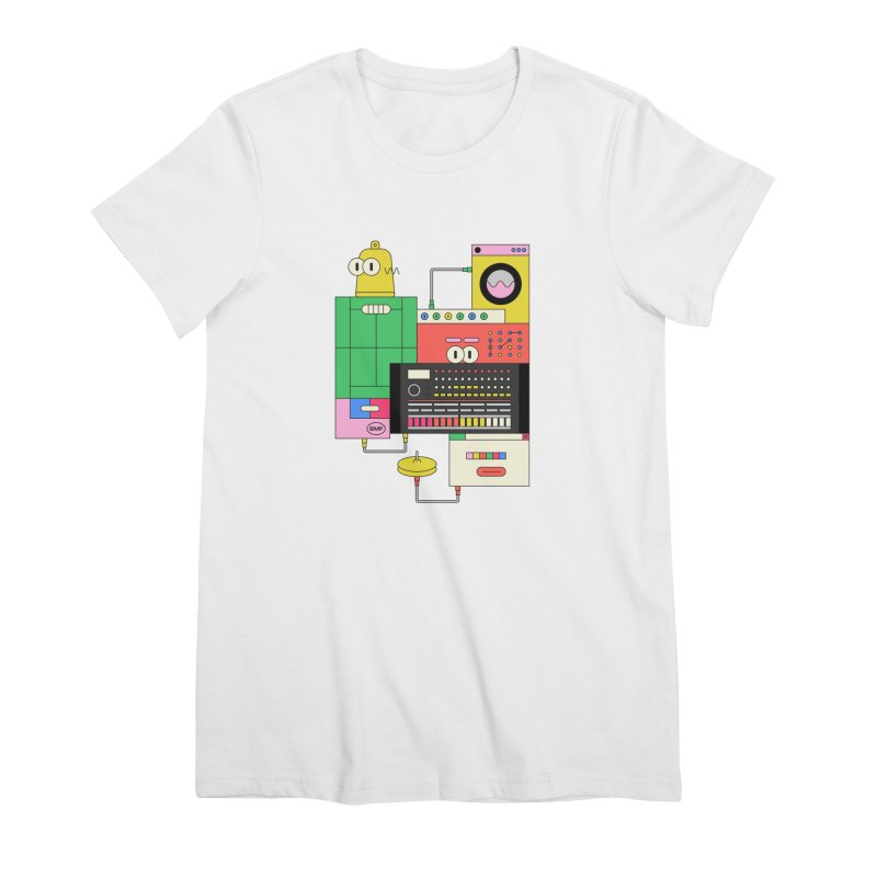 COWBELL Women's Premium T-Shirt by Super Magic Friend Store