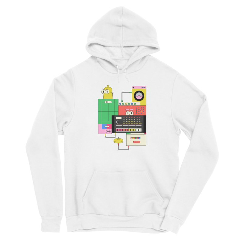 COWBELL Men's Pullover Hoody by Super Magic Friend Store