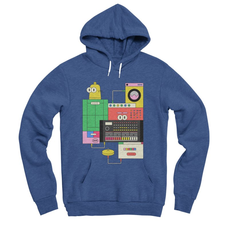 COWBELL Men's Sponge Fleece Pullover Hoody by Super Magic Friend Store