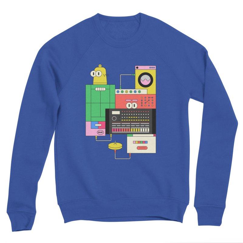 COWBELL Men's Sponge Fleece Sweatshirt by Super Magic Friend Store