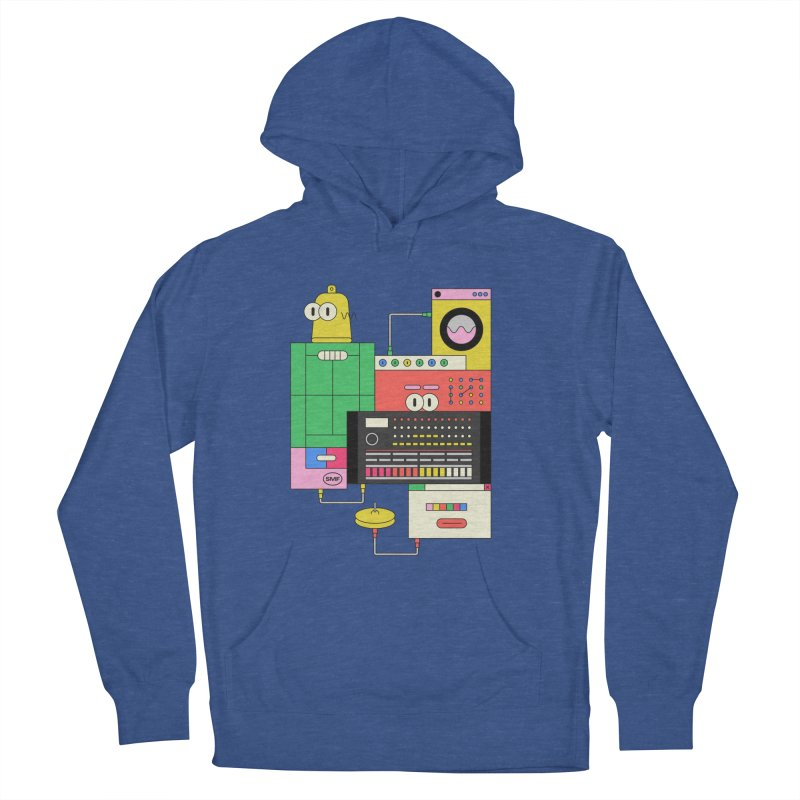 COWBELL Men's French Terry Pullover Hoody by Super Magic Friend Store