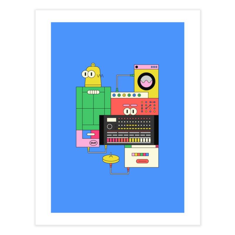 COWBELL Home Fine Art Print by Super Magic Friend Store