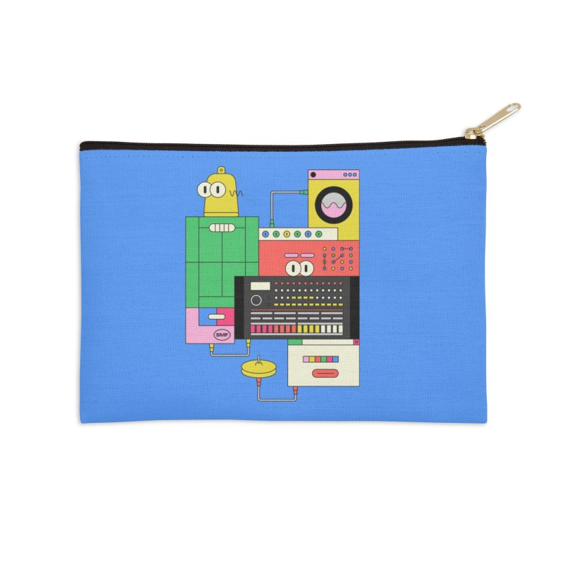 COWBELL Accessories Zip Pouch by Super Magic Friend Store