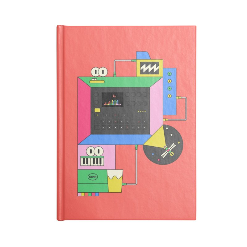 DKAKT Accessories Lined Journal Notebook by Super Magic Friend Store