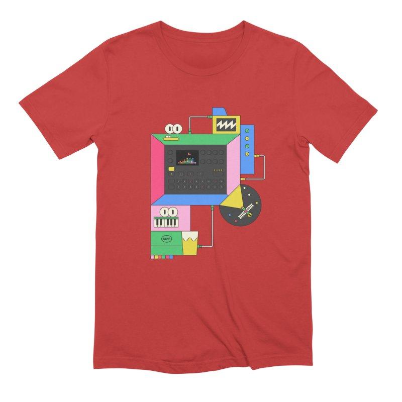 DKAKT Men's Extra Soft T-Shirt by Super Magic Friend Store