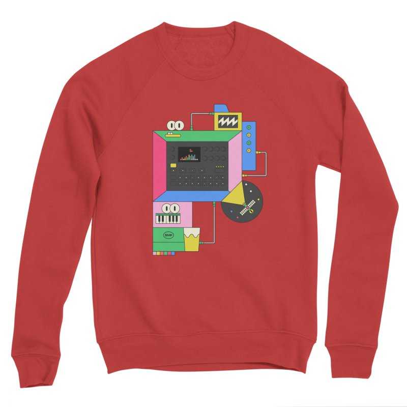 DKAKT Men's Sponge Fleece Sweatshirt by Super Magic Friend Store