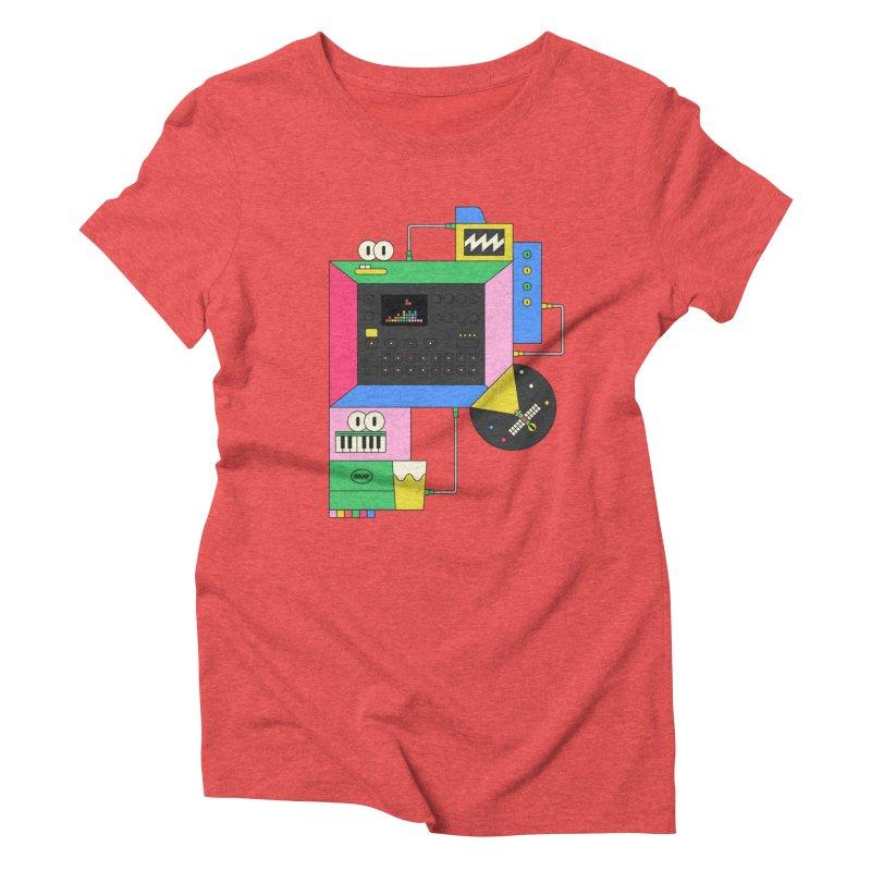 DKAKT Women's Triblend T-Shirt by Super Magic Friend Store