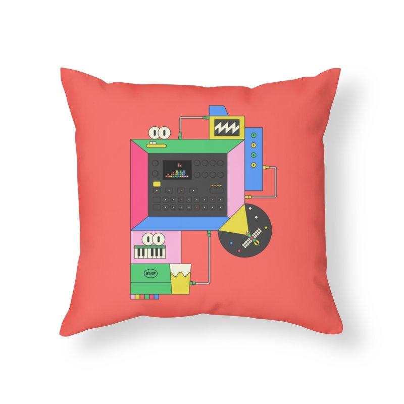 DKAKT Home Throw Pillow by Super Magic Friend Store
