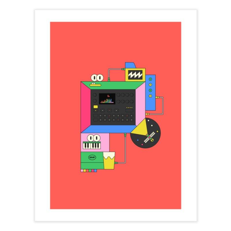 DKAKT Home Fine Art Print by Super Magic Friend Store