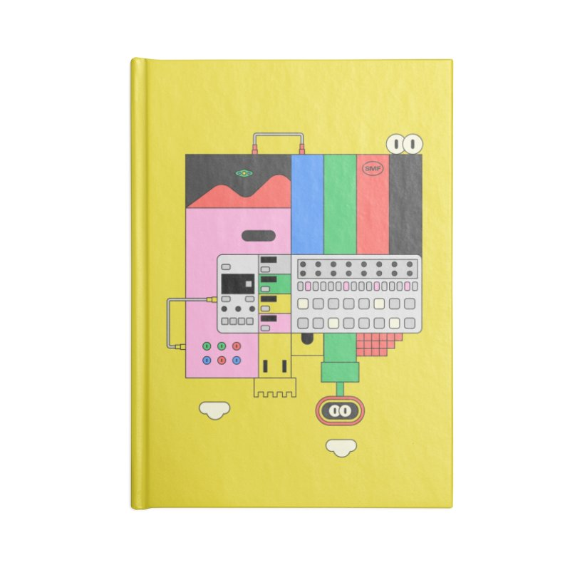 BEAT STEP BROS Accessories Blank Journal Notebook by Super Magic Friend Store