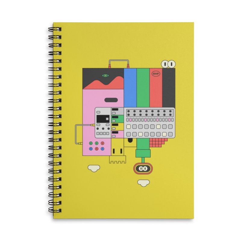 BEAT STEP BROS Accessories Lined Spiral Notebook by Super Magic Friend Store