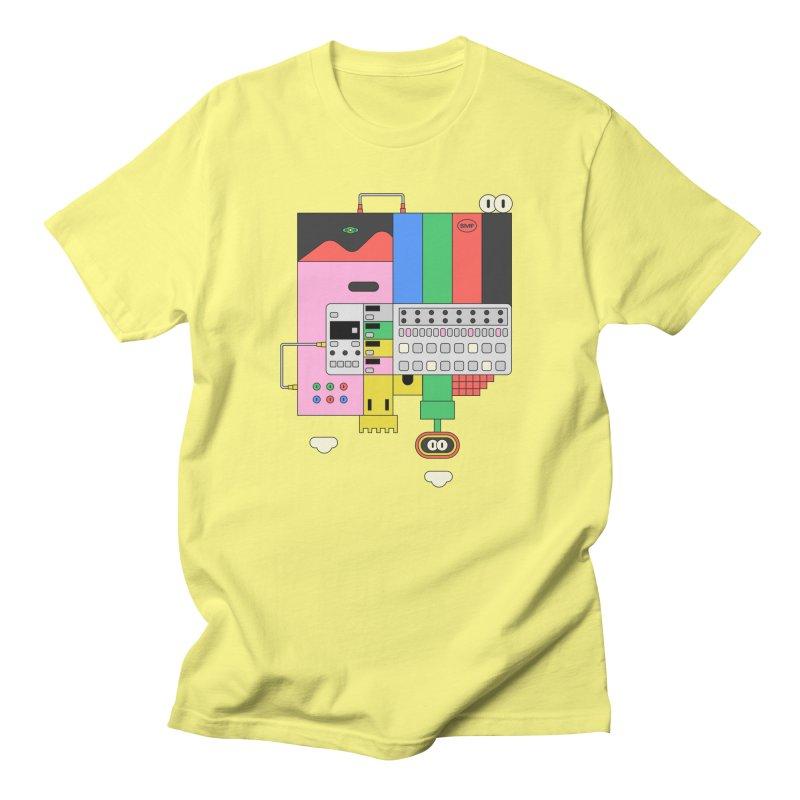 BEAT STEP BROS Men's T-Shirt by Super Magic Friend Store