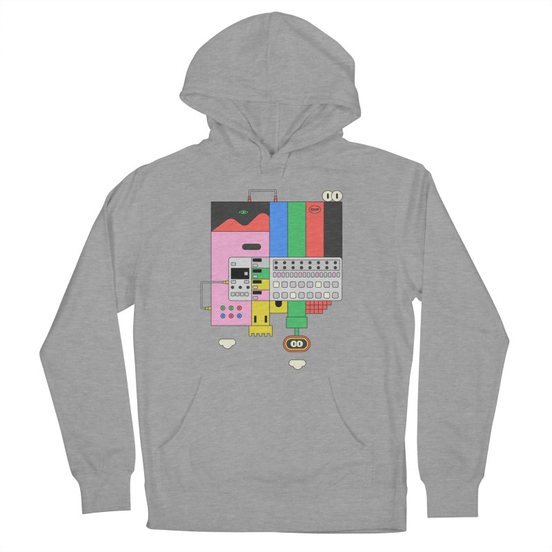 BEAT STEP BROS Men's French Terry Pullover Hoody by Super Magic Friend Store