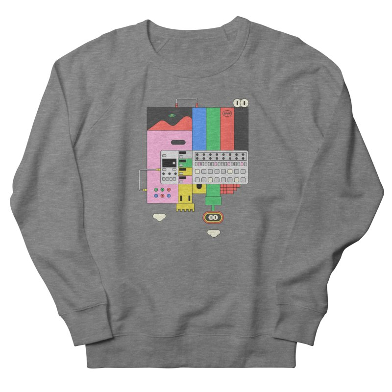 BEAT STEP BROS Men's French Terry Sweatshirt by Super Magic Friend Store